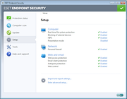 ESET Endpoint Security - ESET Endpoint Security set up
