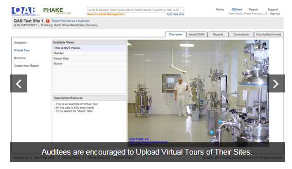 Upload virtual tours