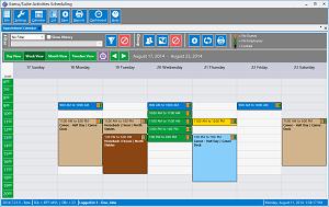 Activities Scheduling Calendar