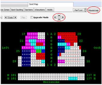 Seat maps