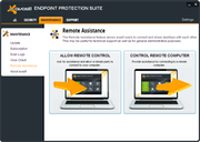 Avast Endpoint Protection Suite - Remote assistance