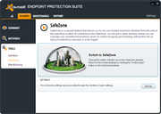 Avast Endpoint Protection Suite - Safezone
