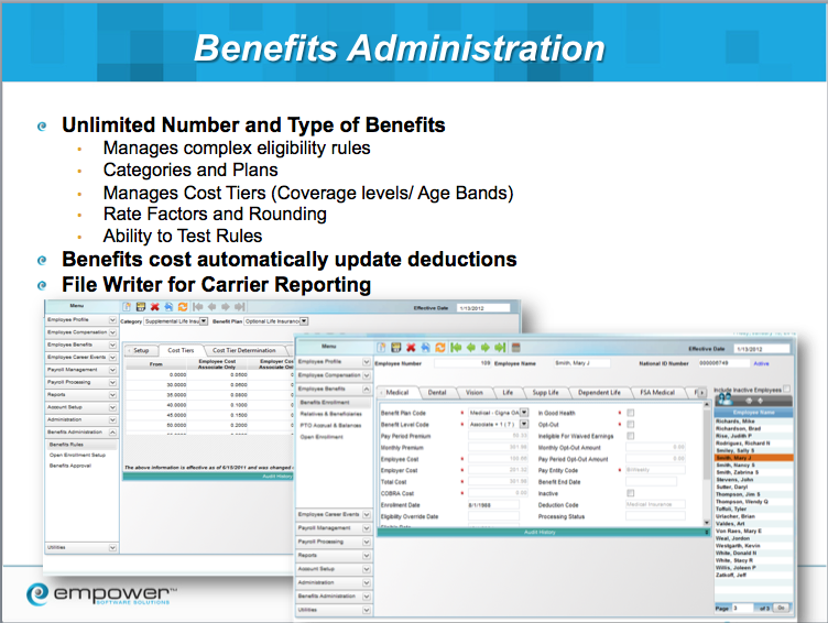Benefits Administration