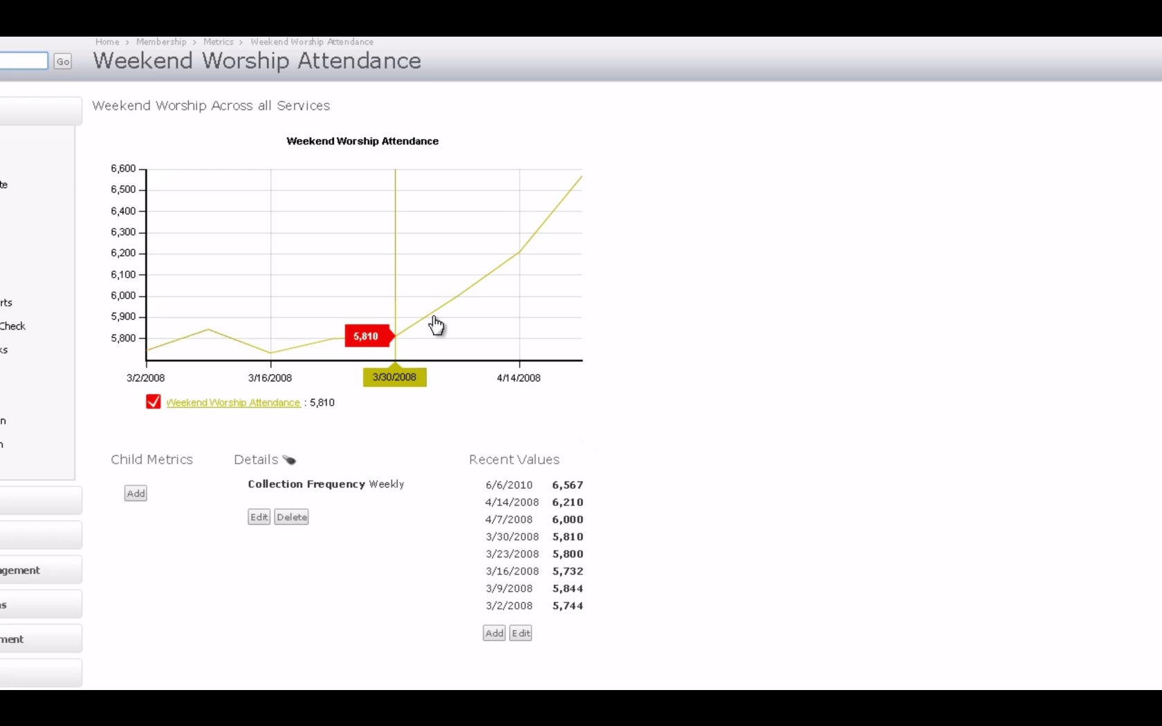 Attendance tracking and reports