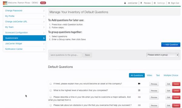 Default questions