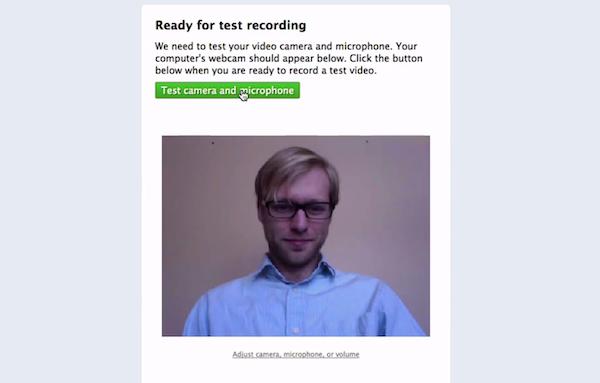 Test recording