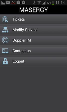 Intelligent service control