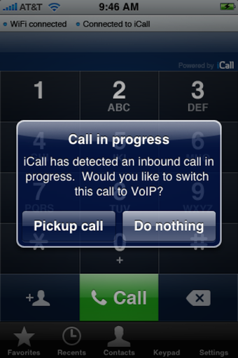 VoIP routing