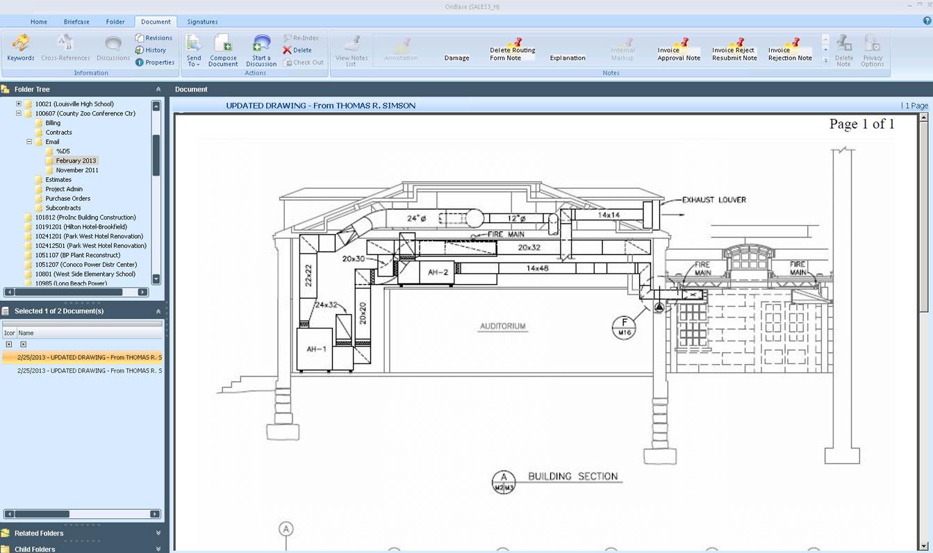 PENTA Construction ERP Software - Enterprise content management
