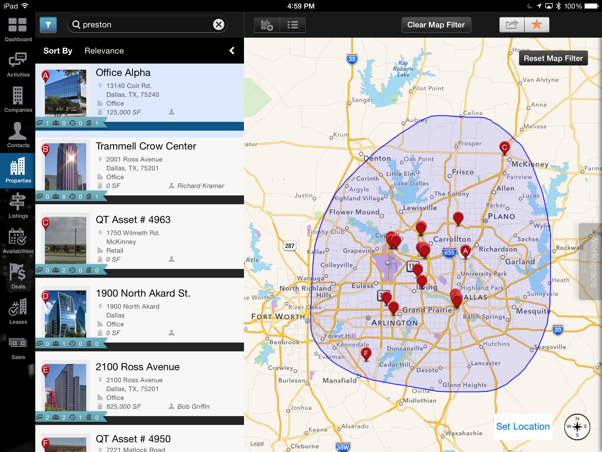 xRE iPad Mapping Technology