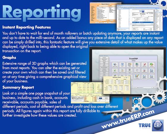 TrueERP  - Reporting