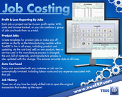 TrueERP - Job Costing