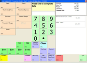 The Assistant Manager - POS Tender Screen