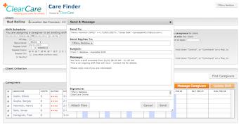 CareFinder tool