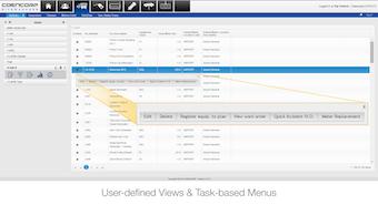 Task-based menus