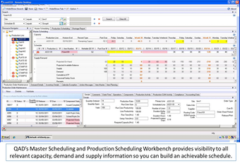 Master - Production Scheduling Workbench