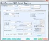 Customer account information