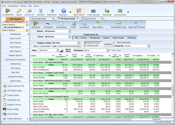 Customizable enterprise reporting systems