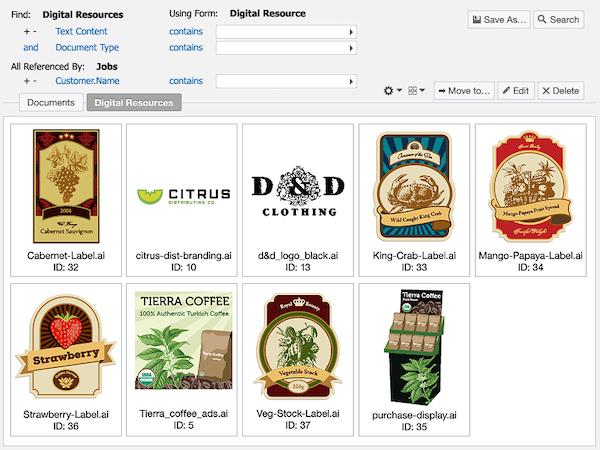 Digital resource finder