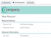 Customer request portal