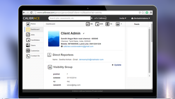 Client admin