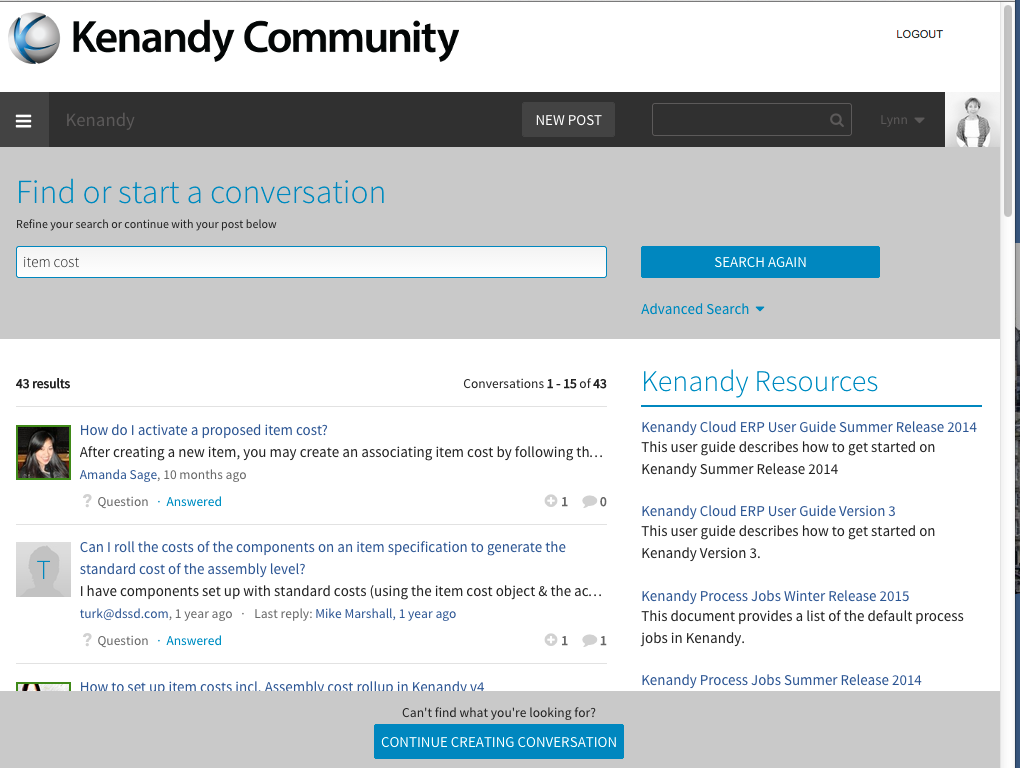 Kenandy Community