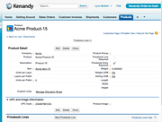 Kenandy Cloud ERP - Order-to-Cash
