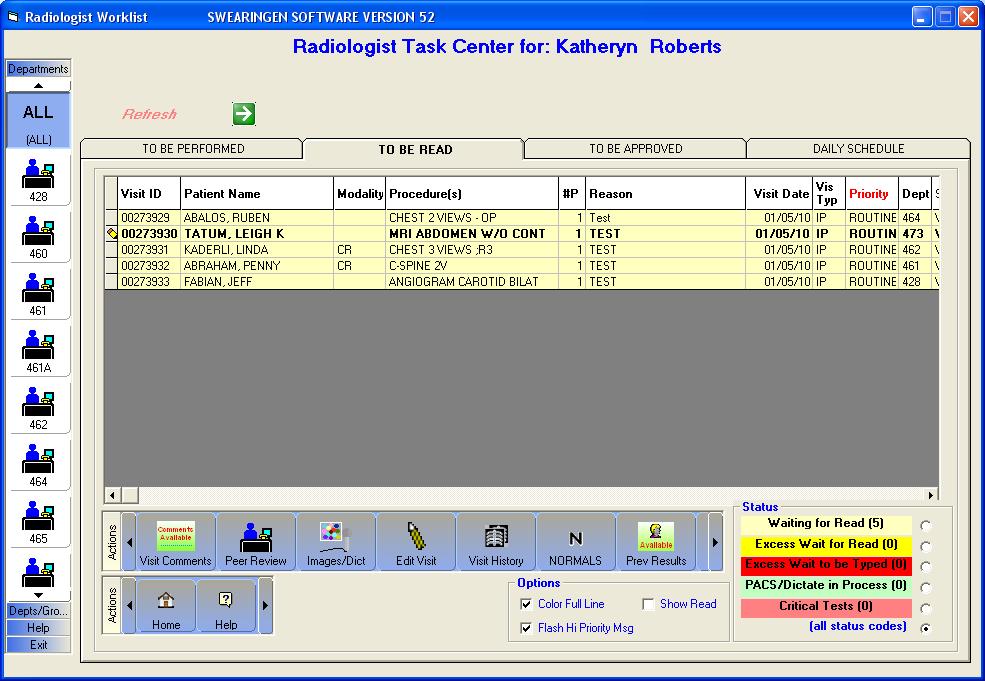 RISynergy - Radiologist Task Center
