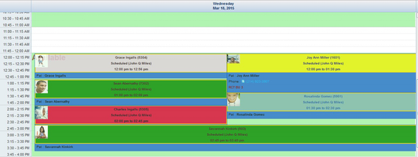 Scheduler View