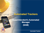 Automated tracker