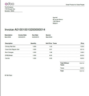 Odoo Point of Sale - Invoice