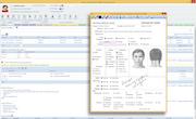 Office Practicum - Patient Chart Showing Hyperforms