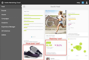 Adobe Marketing Cloud - Dashboard