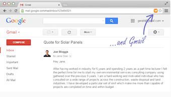 Gmail lead clipper