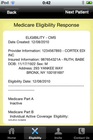 The Electronic Biller - Eligibility check response
