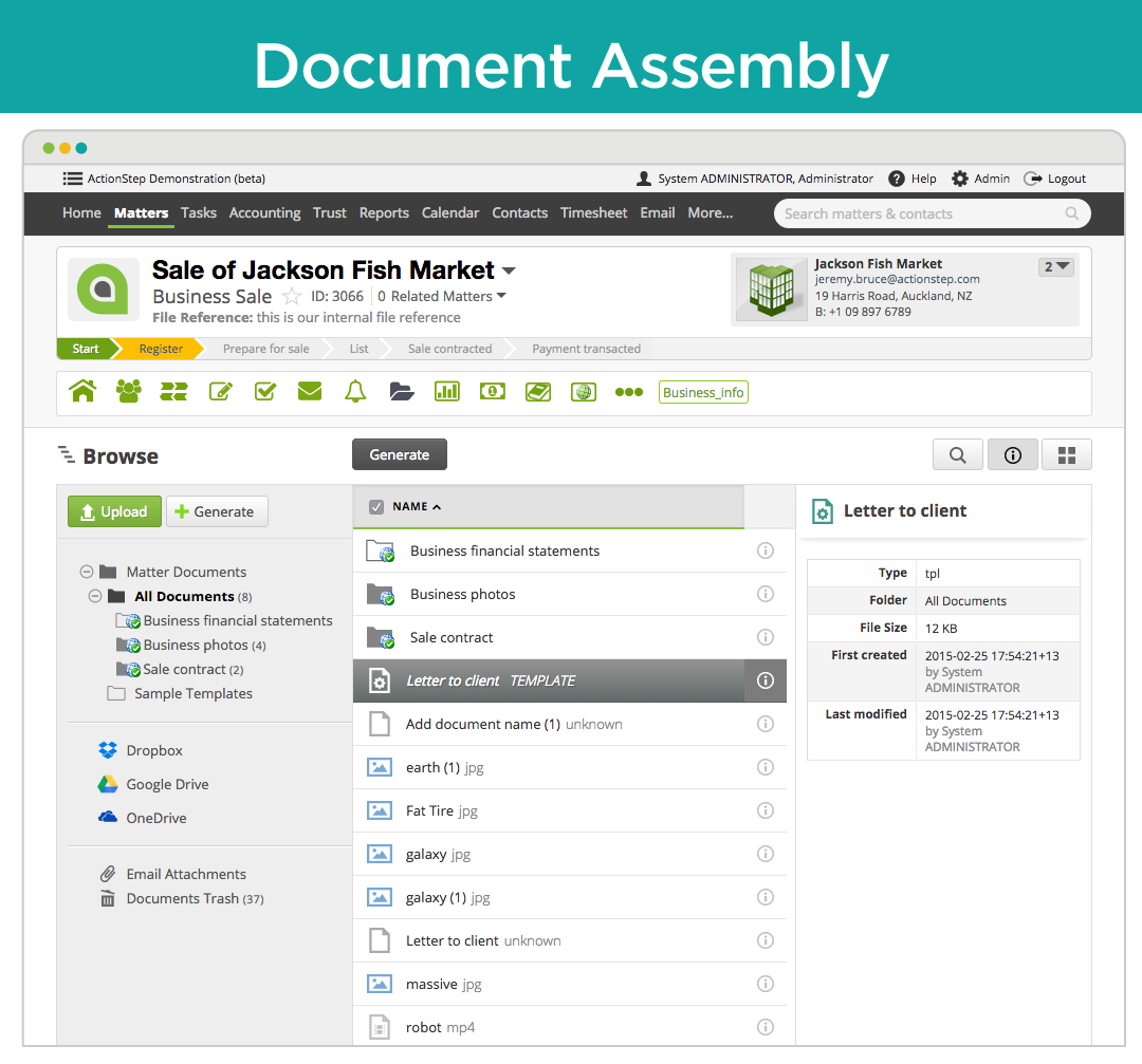Document assembly