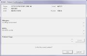 vxVistA - Patient schedule confirmation