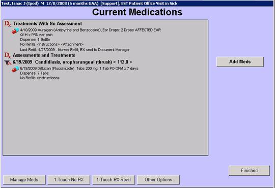 Current medications
