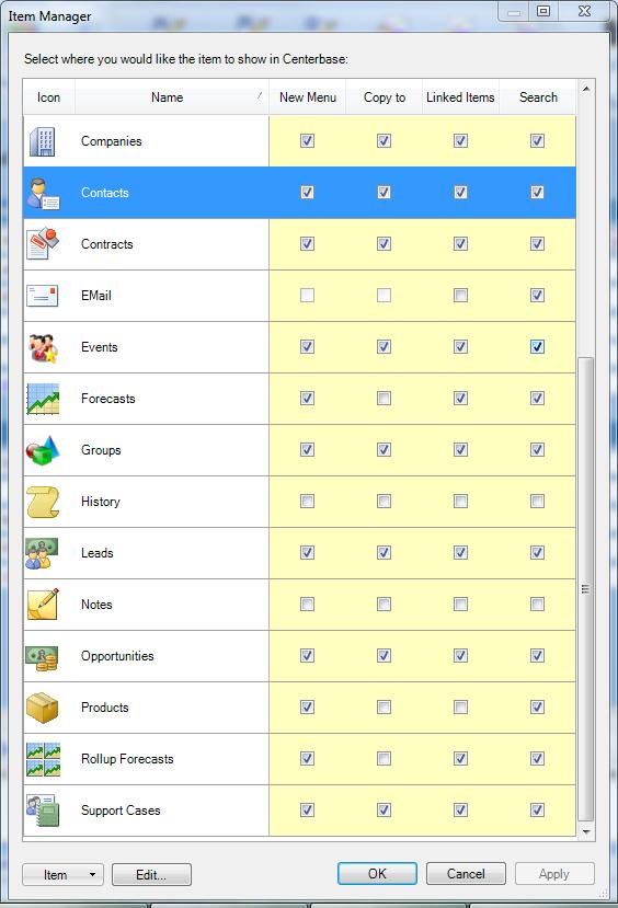 Application customization