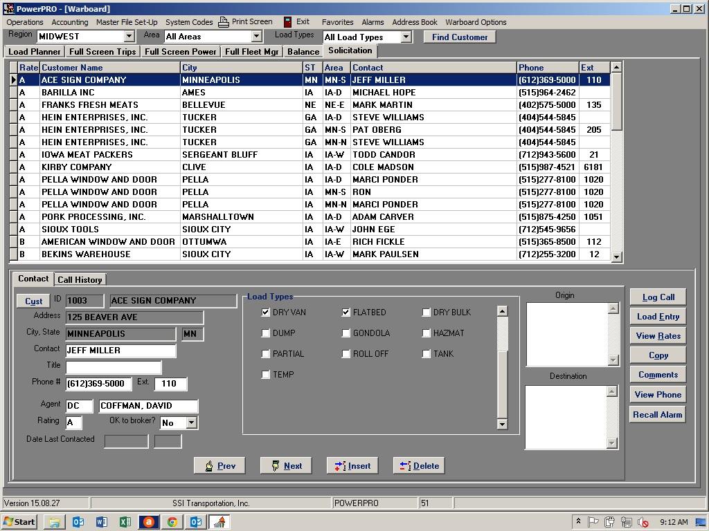 PowerPRO - Account management
