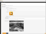 Account admin interface