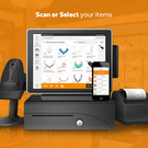 Scan or Select Items