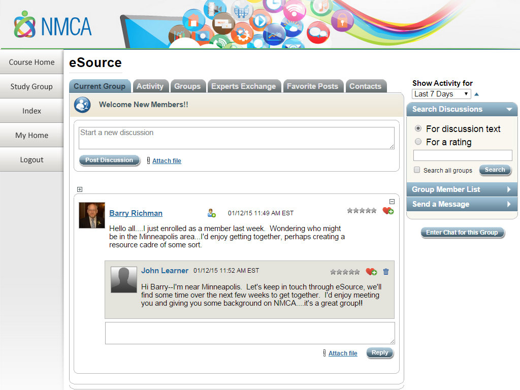 eSource Social Collaboration Tool