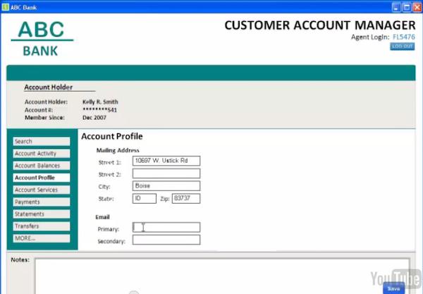 Account profiles