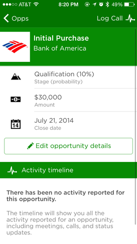 Opportunities page