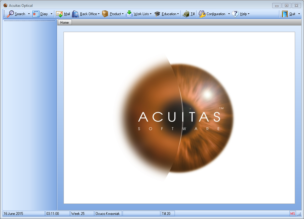 Acuitas activEHR 2.0 - Optical