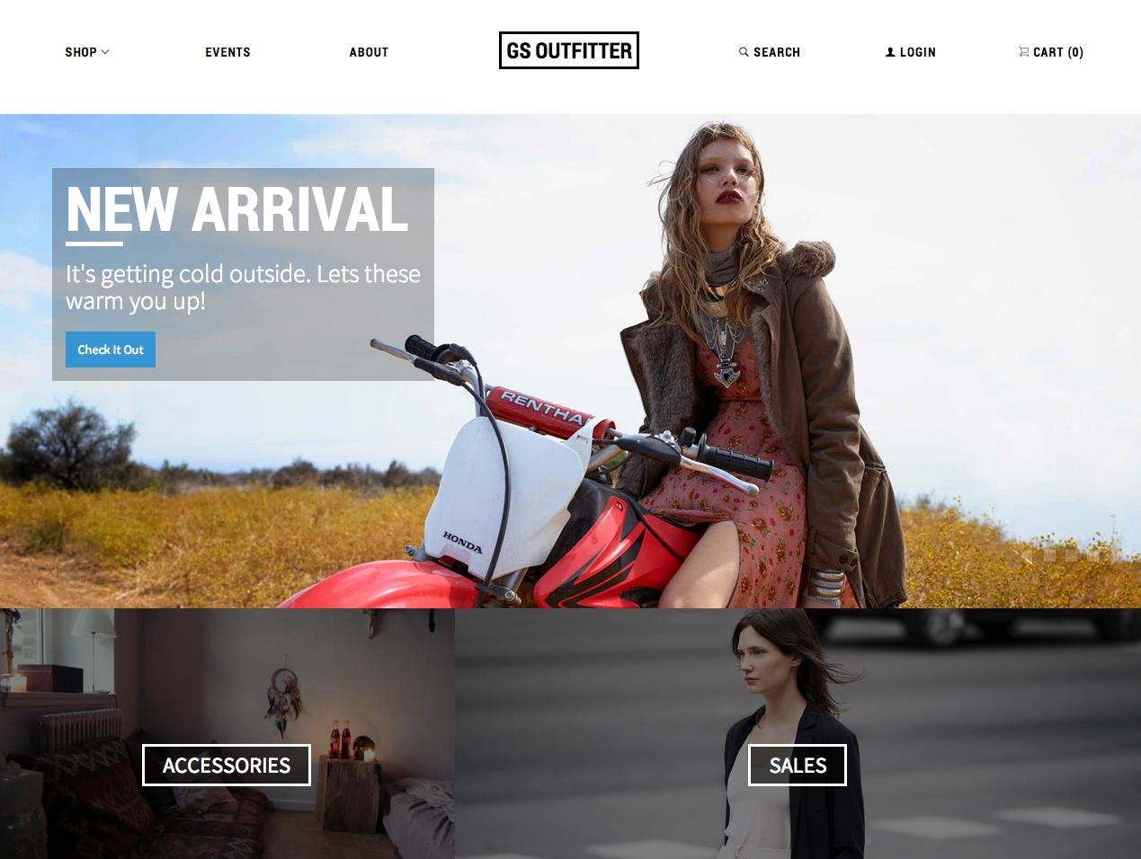Create business website