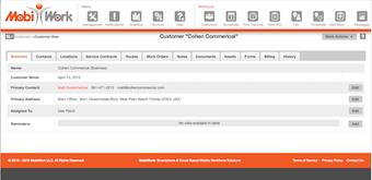 Customer Web View