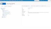 Learning catalog