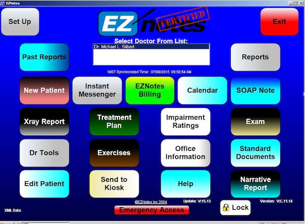 Main screen - documents